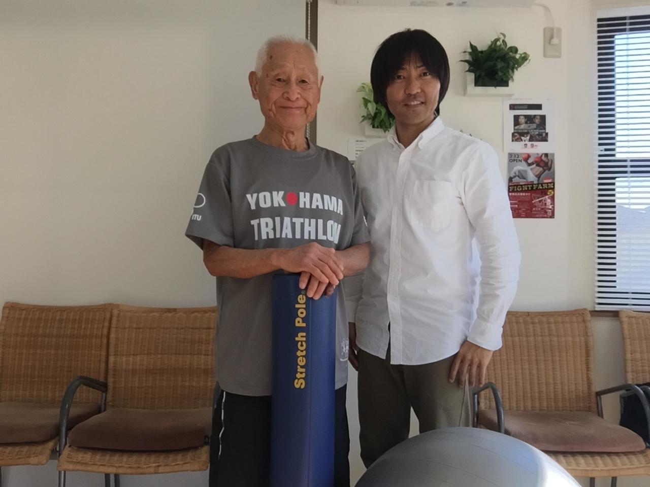 トライアスロン世界最高齢記録保持者の稲田弘さん85歳‼︎