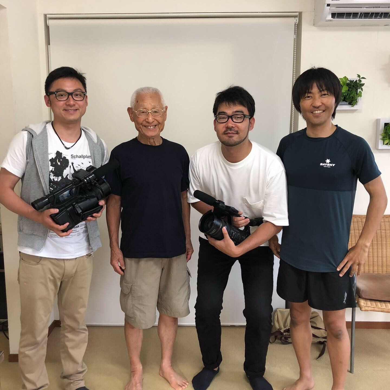 TBS番組バースデイ取材